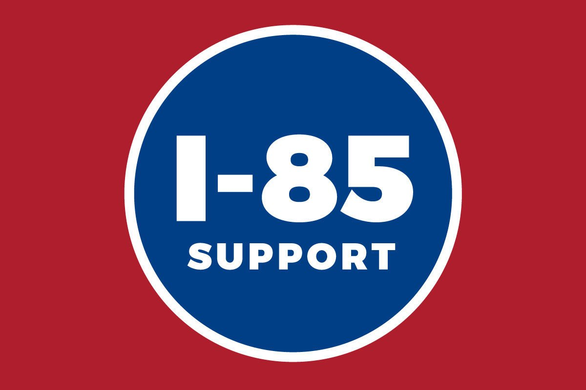 I-85 support, Atlantic Station