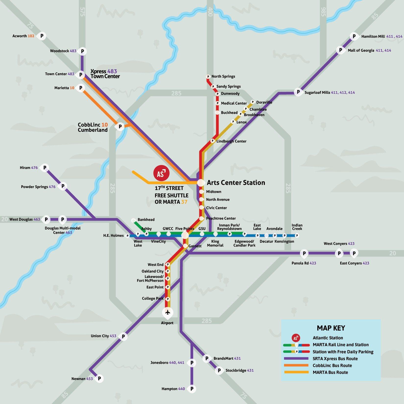 ASAP Regional Map