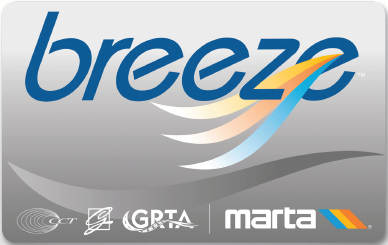 Atlantic Station Breeze Card